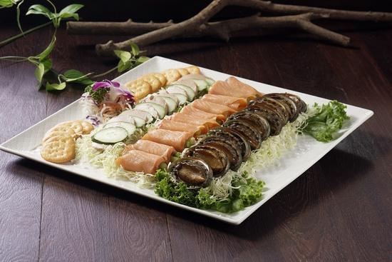 新店館-錦繡三相拼(法式鵝肝、煙燻鮭魚、照燒九孔)