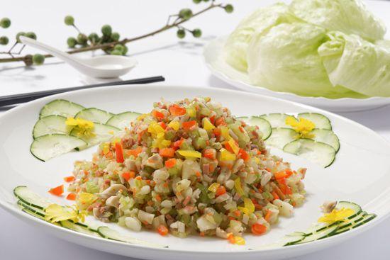 八德館-生菜素蝦鬆