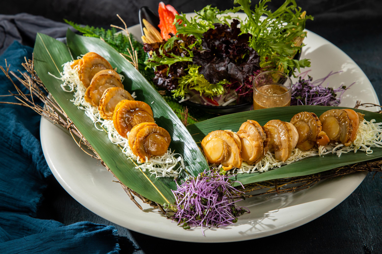 鮮蔬照燒海扇貝