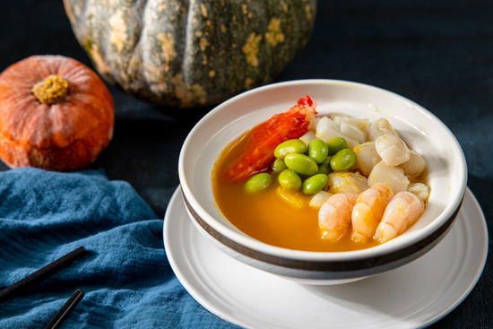 元盅金湯煲海鮮