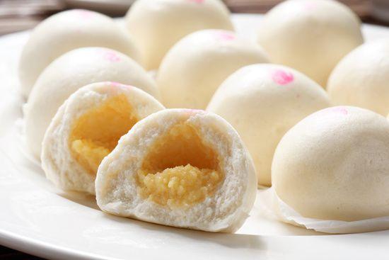 奶黃甜喜包