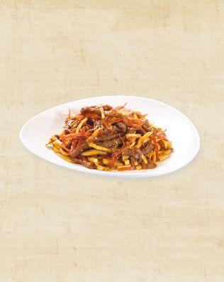 紅椒豆干牛肉絲