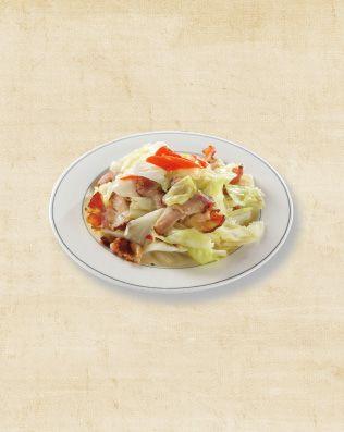 高麗菜臘肉