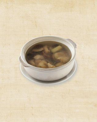 老薑子雞湯