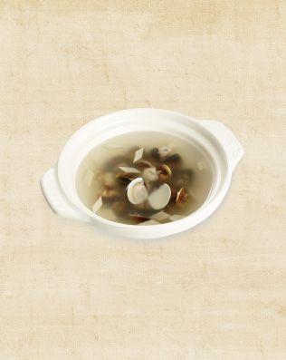 薑片蛤蜊湯