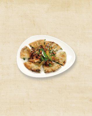 肉絲蔥油餅