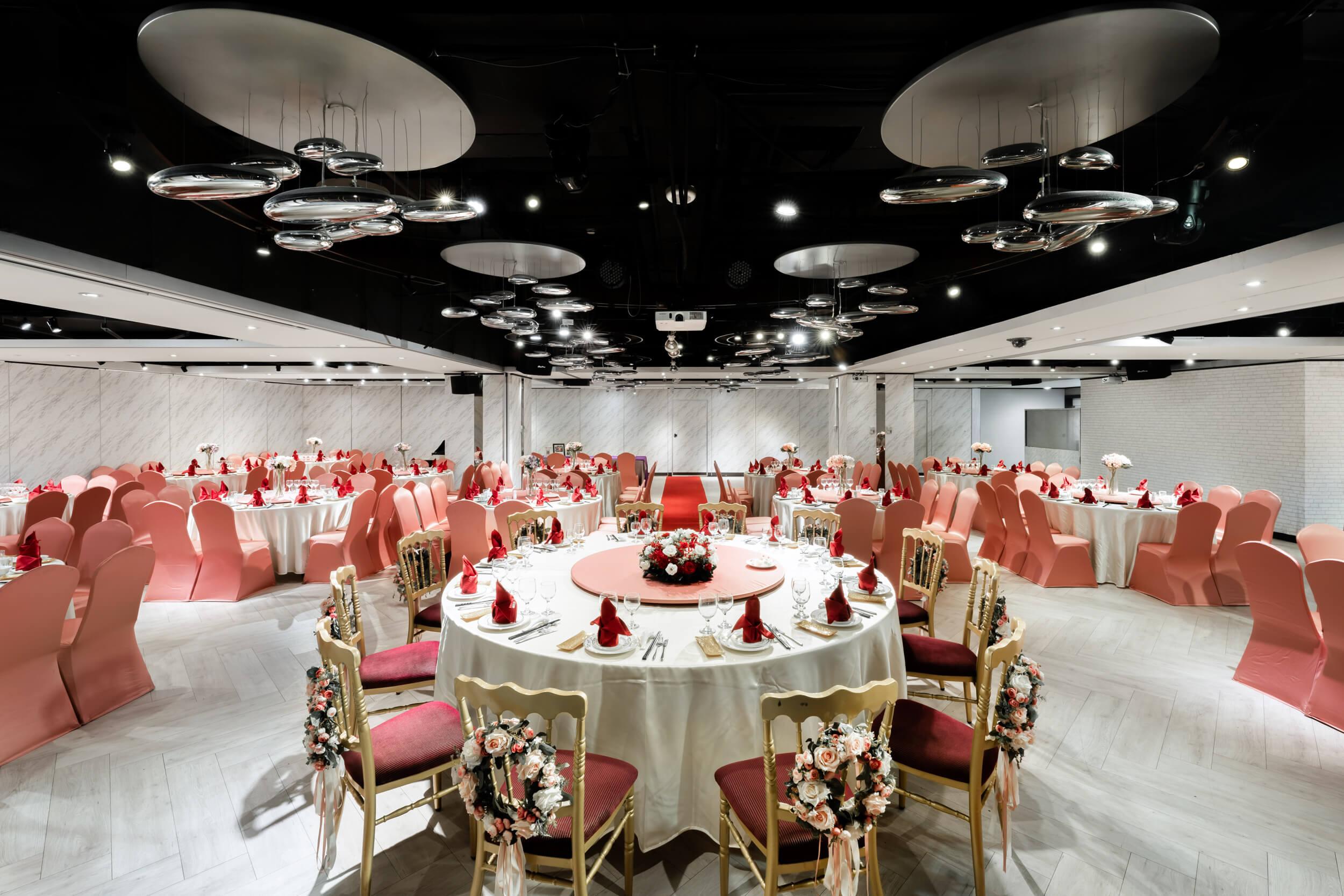 新北婚宴場地小桌數首選,為您打造無負擔婚禮